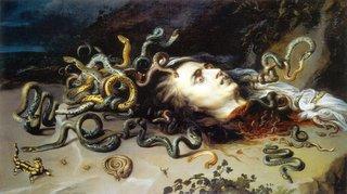 Rubens seine Medusa-Darstellung
