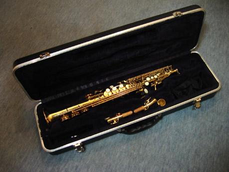 Saxophon im Koffer